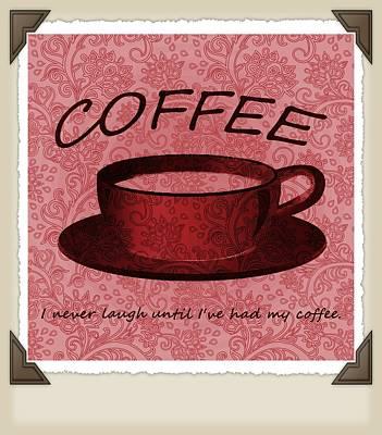 Digital Art - Coffee 2 Scrapbook by Angelina Vick