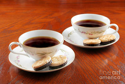 Coffee And Cookies Print by Darren Fisher