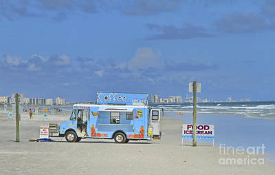 Food Truck Photograph - Coffee And More by Deborah Benoit