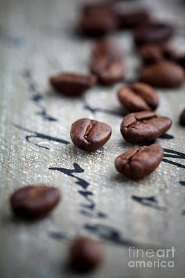 Photograph - Coffee Beans by Kati Finell