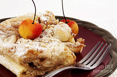 Brunch Photograph - Coffee Cake by Blink Images