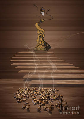 Digital Art - Coffee by Johnny Hildingsson