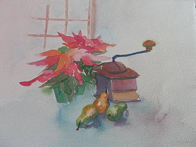 Coffee Mill  Art Print by Jann Elwood