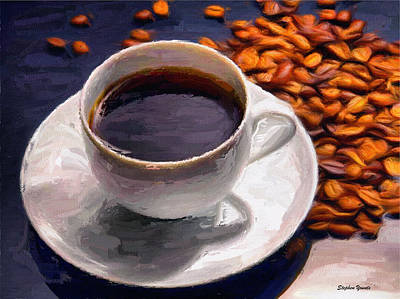 Espresso Mixed Media - Coffee by Stephen Younts