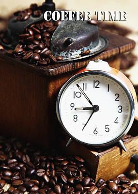 Coffee Time Art Print by Falko Follert