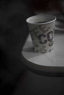 Coffee To Go Art Print by Tal Richter