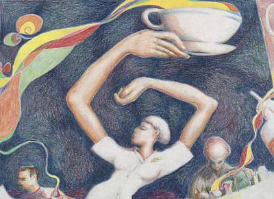 Coffee Art Print by Vincent Randlett III