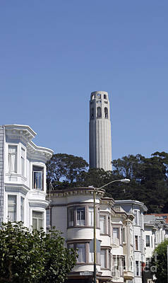 Art Print featuring the photograph Coit Tower by Denise Pohl