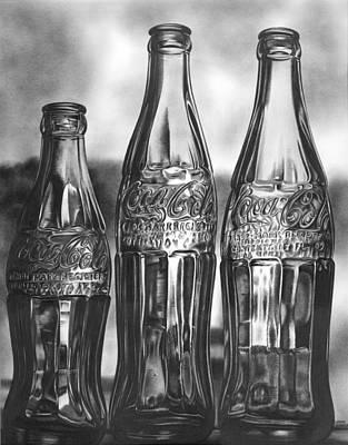 Coke Bottles Original by Jerry Winick