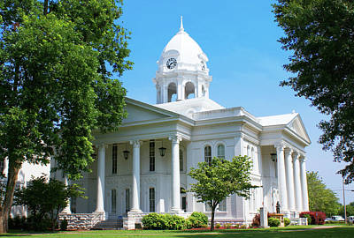 Nirvana - Colbert County Courthouse by Paul Mashburn