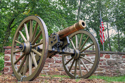 Civil War Cannon Balls Photograph - Cold Iron by Mitch Cat