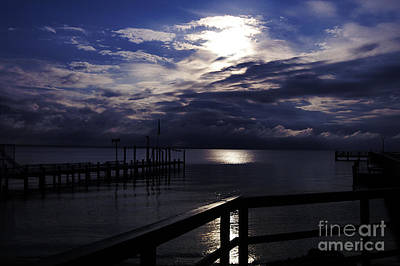 Photograph - Cold Night On The Water by Clayton Bruster
