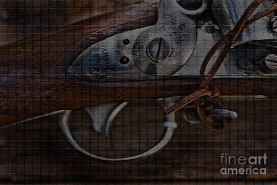 Musket Mixed Media - Cold Steel by Kim Henderson