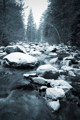 Photograph - Cold Stream by Mike Irwin