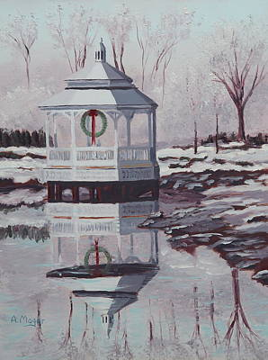 Painting - Cold Winter Day by Alan Mager