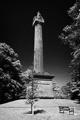 Cole Memorial Monument Enniskillen Art Print by Joe Fox