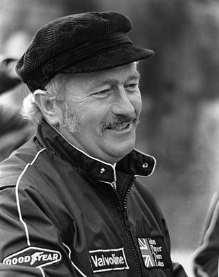 Colin Chapman Photograph - Colin Chapman 1928-1982 by Mike Flynn