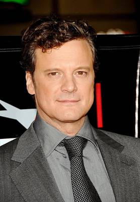 Film Festival Premiere Screening Photograph - Colin Firth At Arrivals For Afi Fest by Everett