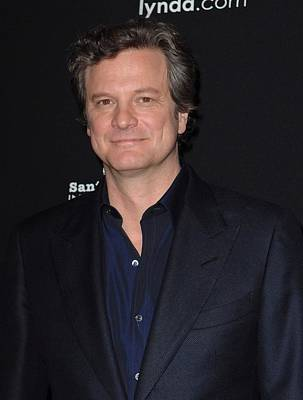Bestofredcarpet Photograph - Colin Firth At Arrivals For Montecito by Everett