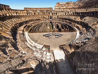 Coliseum Art Print by Gregory Dyer