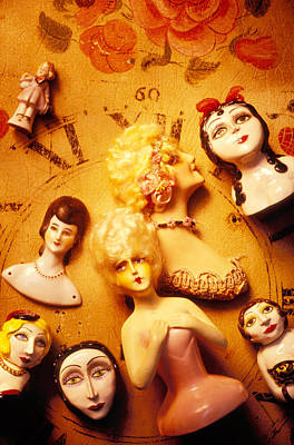 Collectable Dolls Art Print by Garry Gay