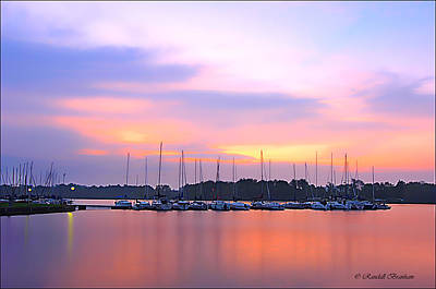 Target Threshold Photography - Collection Of Sailers At Dawn by Randall Branham