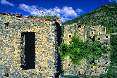 Photograph - Colletta Di Castelbianco In Val Pennavaire by Enrico Pelos