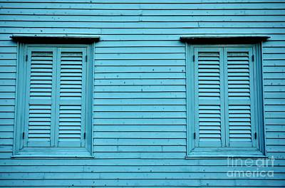 Photograph - Colonial Blue by Dean Harte