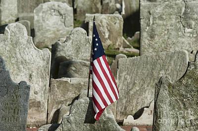 Colonial Cemetery Art Print