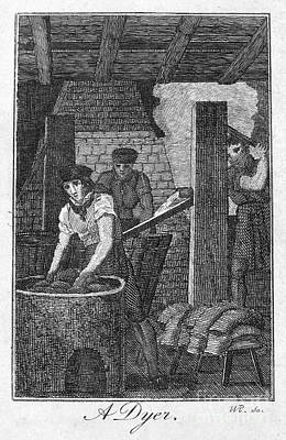 Colonial Dyer Art Print by Granger