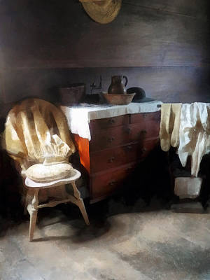 Colonial Nightclothes Art Print by Susan Savad