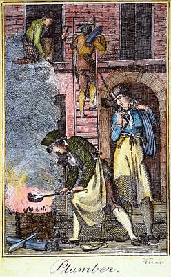 Colonial Plumber Art Print by Granger