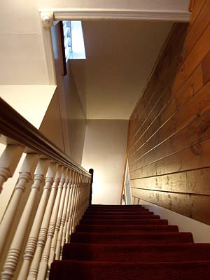 Photograph - Colonial Staircase Opus 1 by Katherine Huck Fernie Howard
