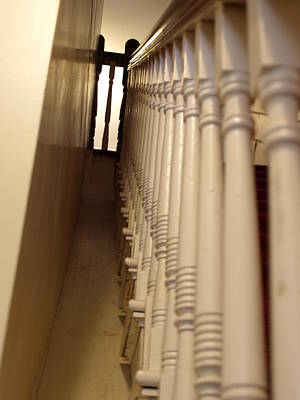 Photograph - Colonial Staircase Opus 3 by Katherine Huck Fernie Howard