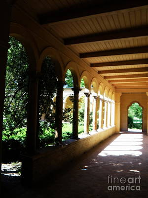 Colonnade  3 Art Print by Tanya  Searcy