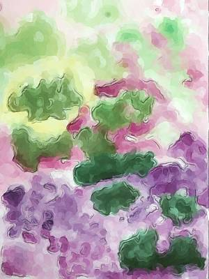 Color And Light In Monet's Garden Art Print by Heidi Smith