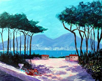 Color And Light Of The Mediterranean Art Print by Larry Cirigliano