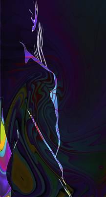 Female Body Digital Art - Color Body by Steve K