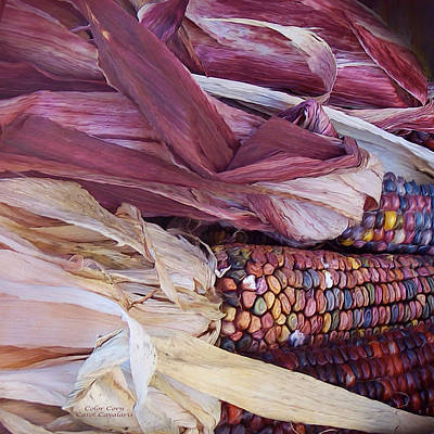 Mixed Media - Color Corn by Carol Cavalaris