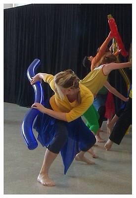 Photograph - Color Dances by B L Qualls