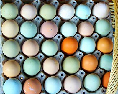 Color Eggs  Art Print