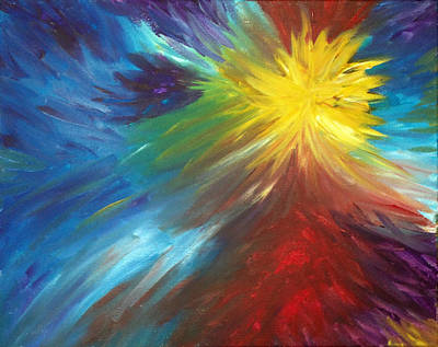 Painting - Color Explosion by Lisa Stanley