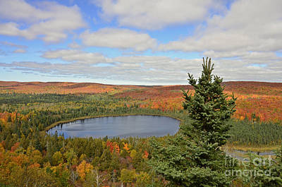 Lake Superior Art Gallery Photograph - Color Falls by Whispering Feather Gallery