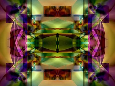 Digital Art - Color Genesis 1 by Lynda Lehmann