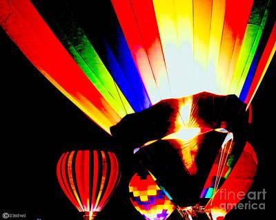 Digital Art - Color Glow by Lizi Beard-Ward