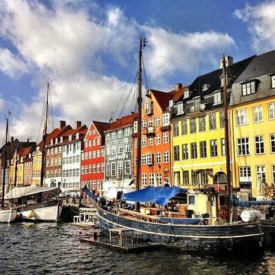 Color In Copenhagen Art Print