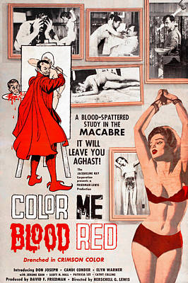 Bare Midriff Photograph - Color Me Blood Red, Gordon Oas-heim by Everett