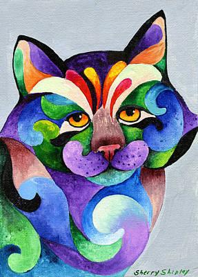 Color Me Smug Art Print