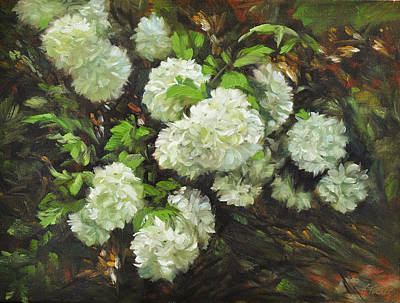 Schmid Painting - Color Of White by Katherine Tucker