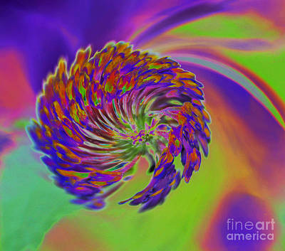 Color Splash Art Print by Cindy Manero